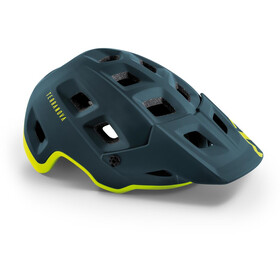 MET Terranova MIPS Casco, blue/lime green matte